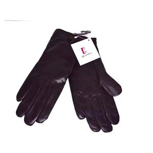 Grandoe leather gloves. NWT size small